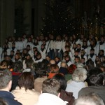 Weihnachten 2005 Kirchenkonzert Iris 101